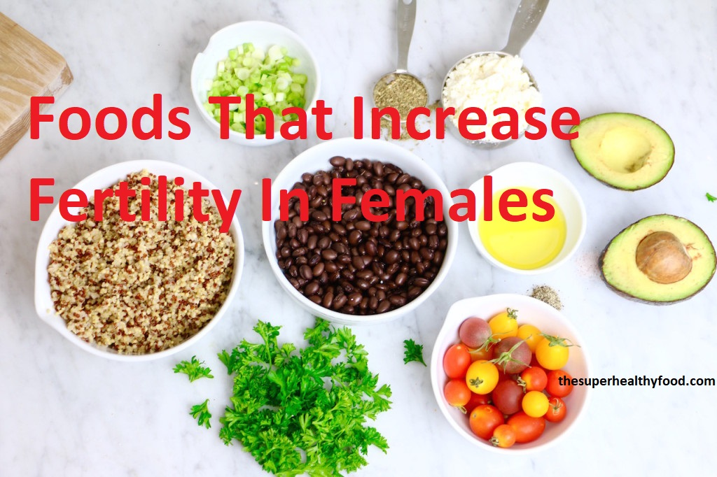 Healthy Foods That Increase Fertility In Females