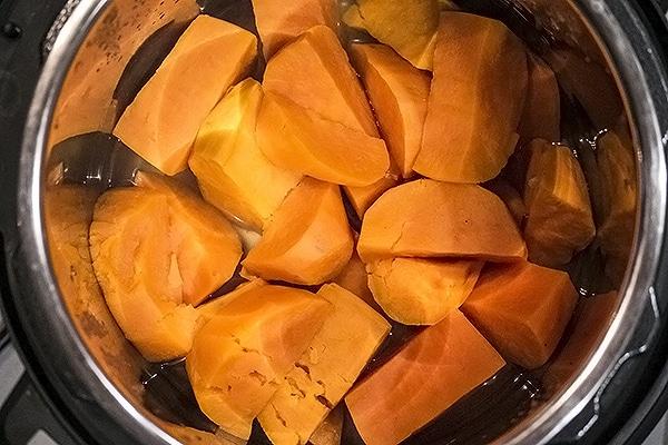 desire. Instant Pot Sweet Potatoes