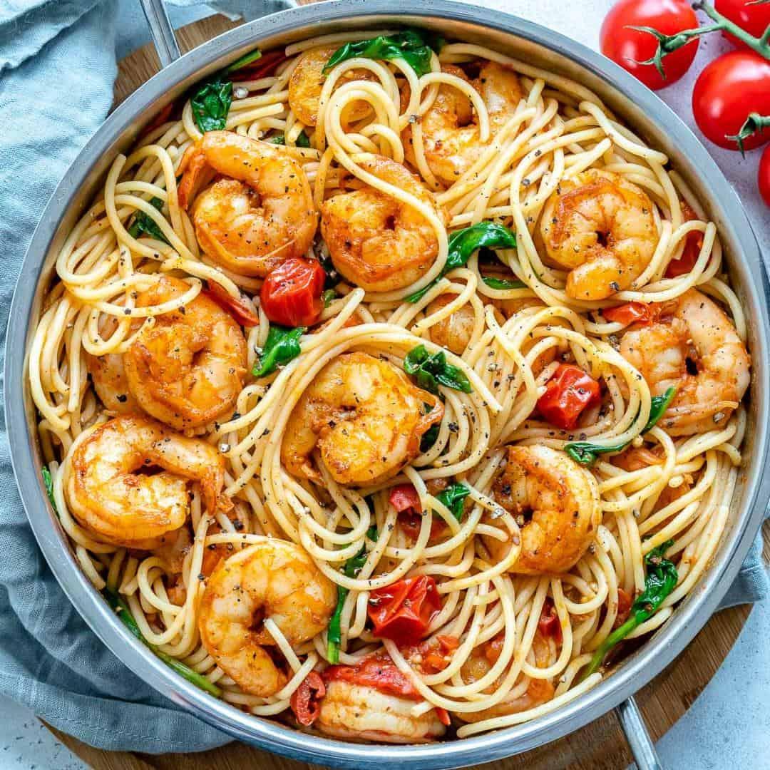 healthy shrimp pasta recipes
