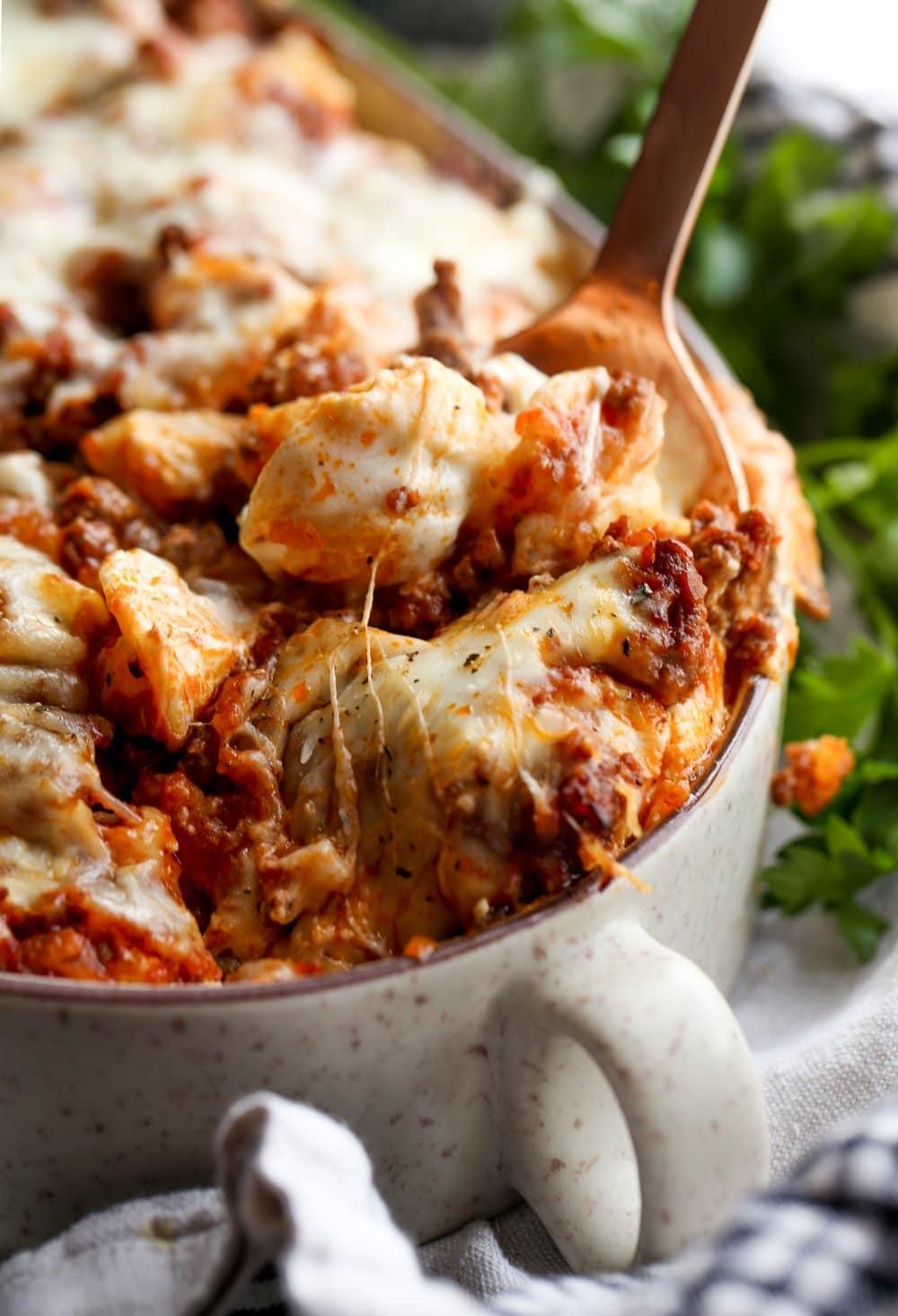 An Easy Pasta Casserole Recipe