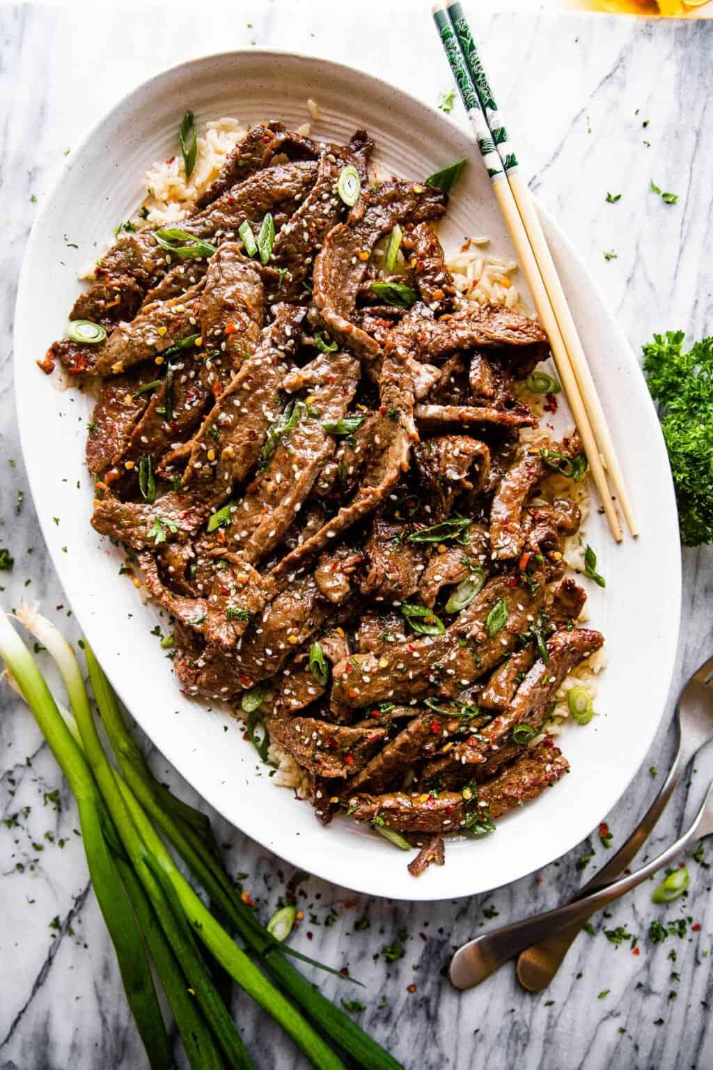 Healthy Beef Bulgogi Recipe