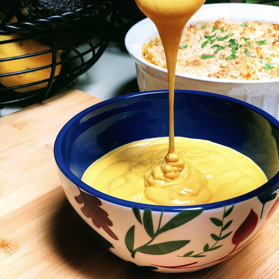 Healthy Vegan Cheese Sauce