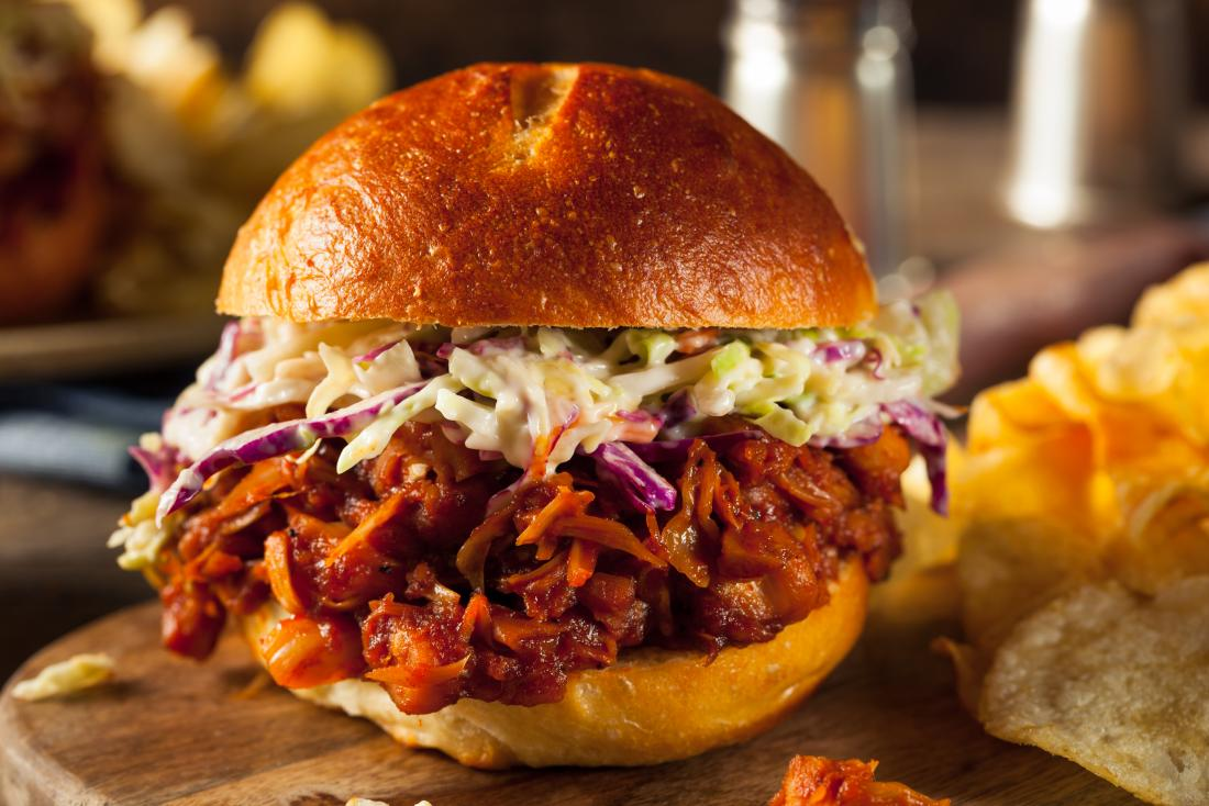 healthy Low Calories Sweet BBQ Pulled Jackfruit Recipe