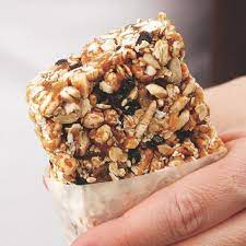 Healthy Almond-Honey Power Bar