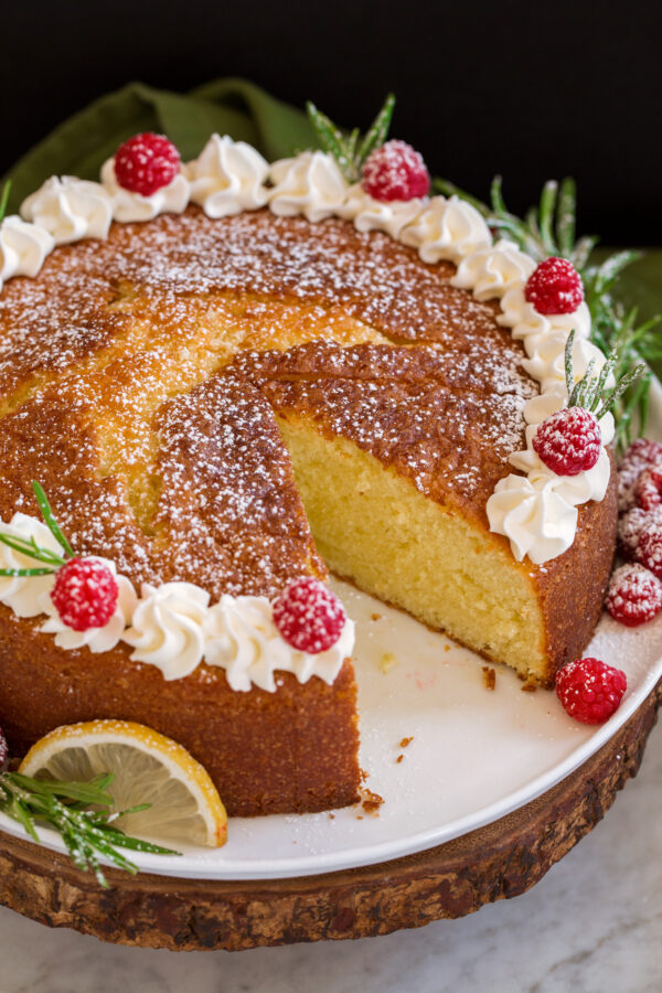 Healthy Olive Oil Cake Recipe