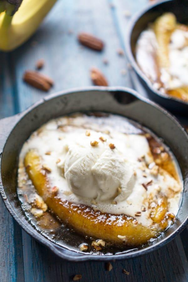 Healthy Bananas Foster Recipe