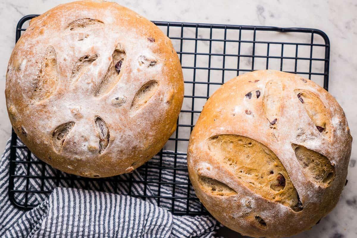 Healthy Cranberry Walnut Bread Recipe