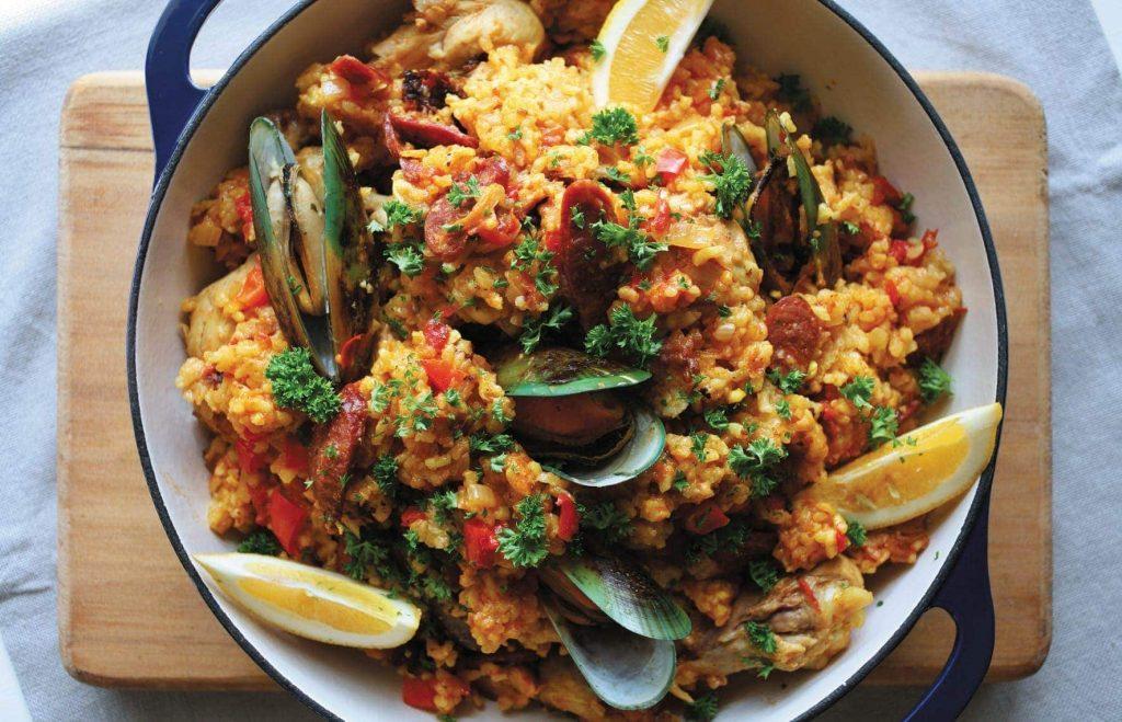 Healthy Paella Recipe