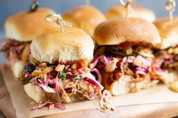 Healthy Pulled Pork Sliders Recipe