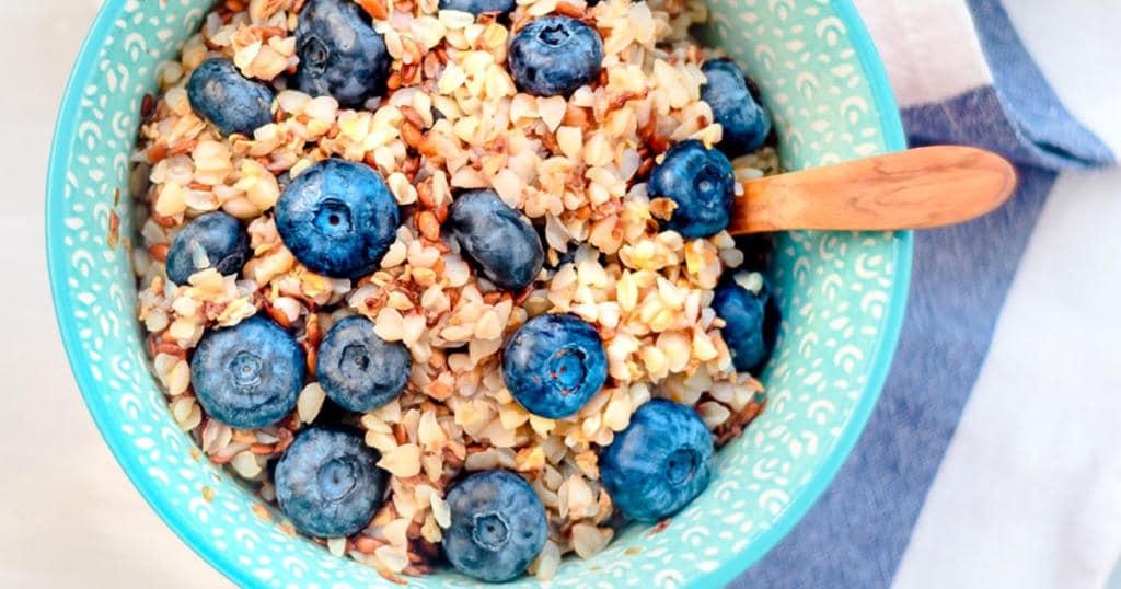 Healthy Buckwheat and Amaranth Warm Cereal Recipe