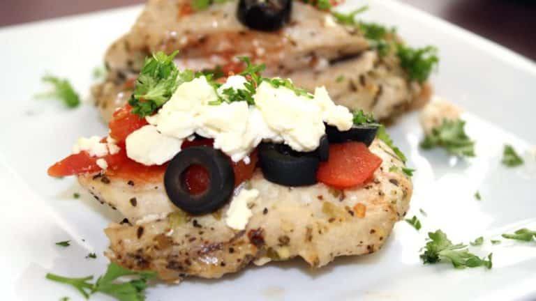 Healthy Greek Style Turkey Breast Recipe