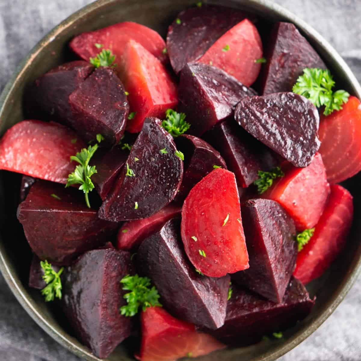 Healthy Instant Pot Beets Recipe