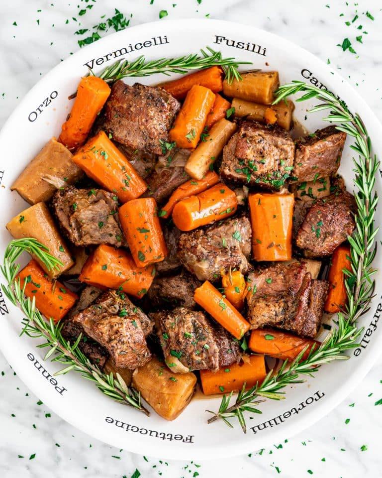 Healthy Slow Cooker Short Ribs Recipe