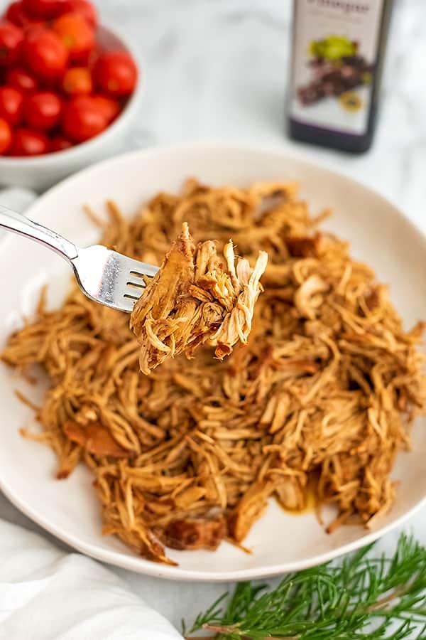 Healthy Balsamic Chicken Crock Pot Recipe