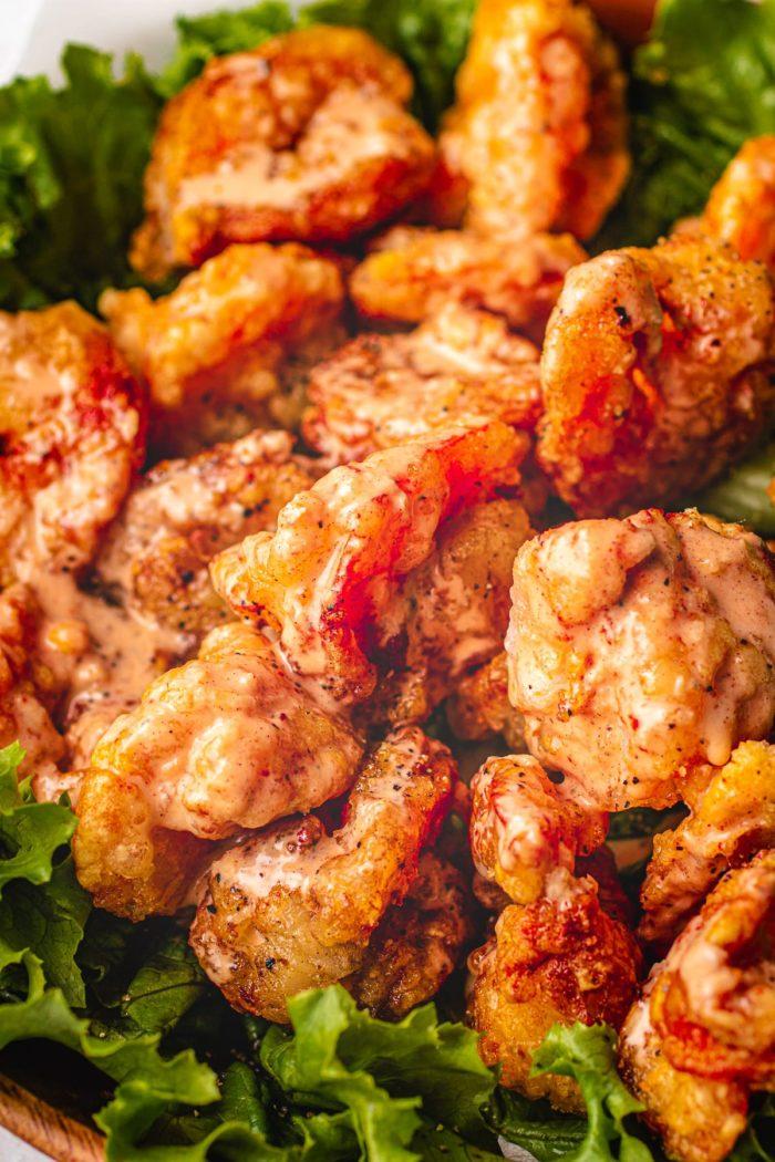 Healthy Summer Bang Bang Shrimp Recipe