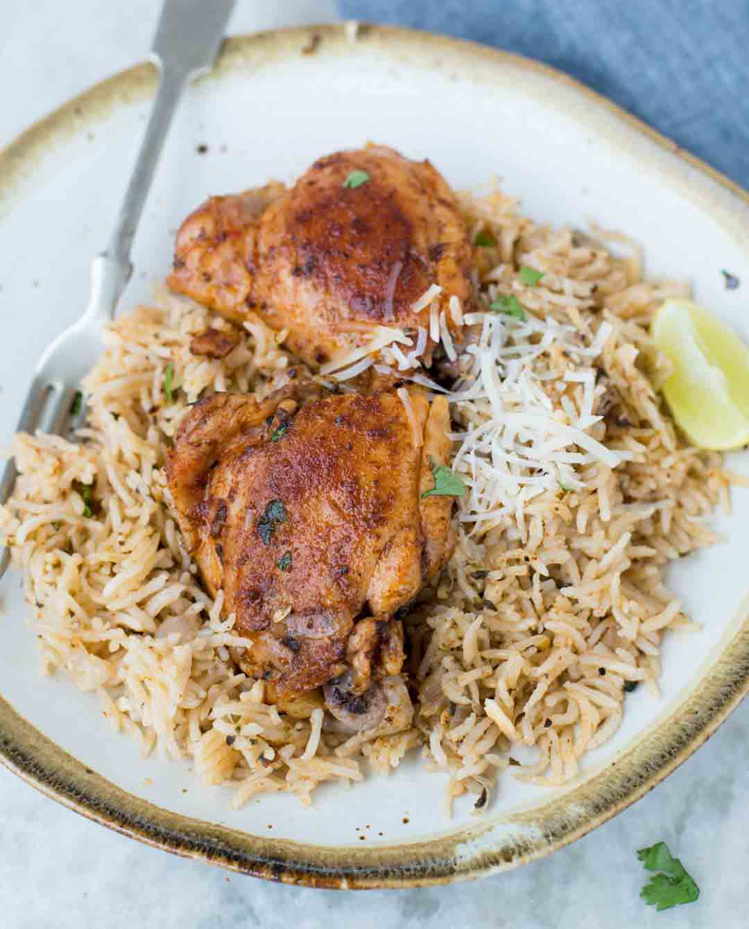 Healthy Instant Pot Chicken Thighs And Rice Recipe