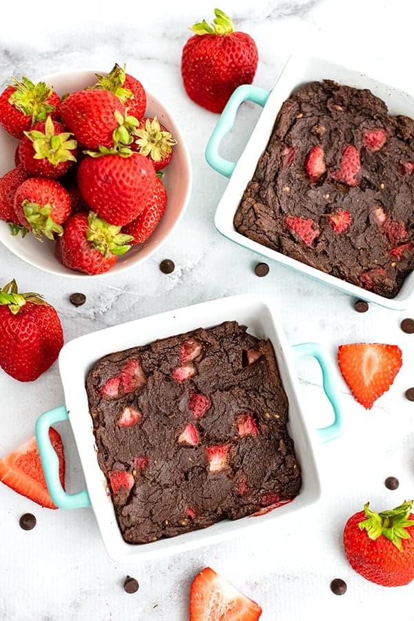 Healthy Vegan Mug Brownie Recipe