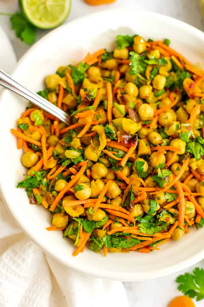 Healthy Apricot Chickpea Curry Recipe