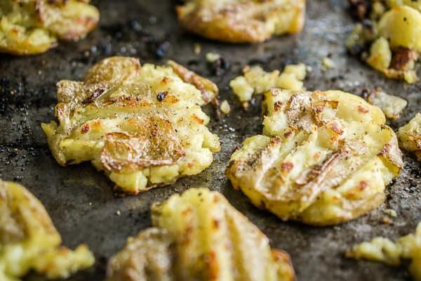 Healthy Smashed Potatoes Recipe