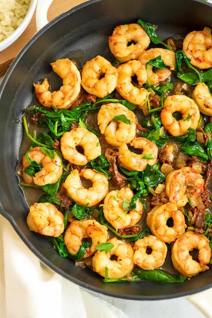 Healthy Sun Dried Tomato Shrimp Recipe