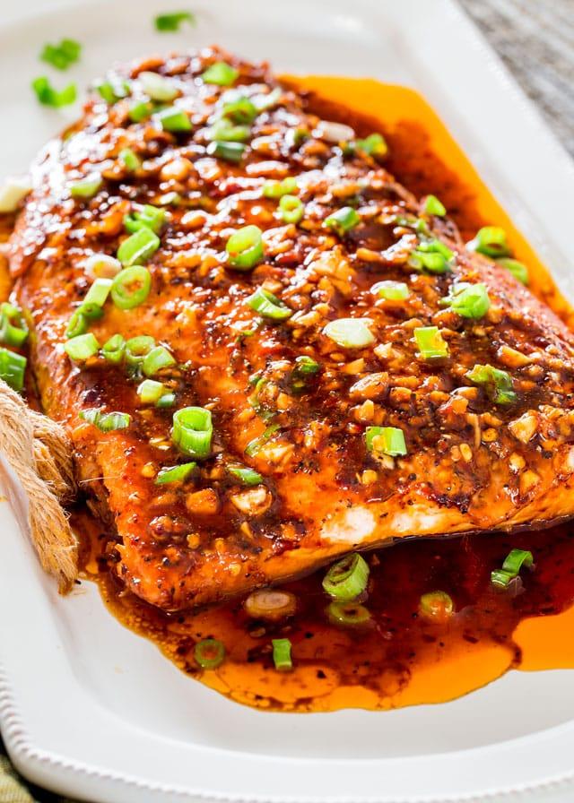 Healthy Firecracker Salmon Recipe