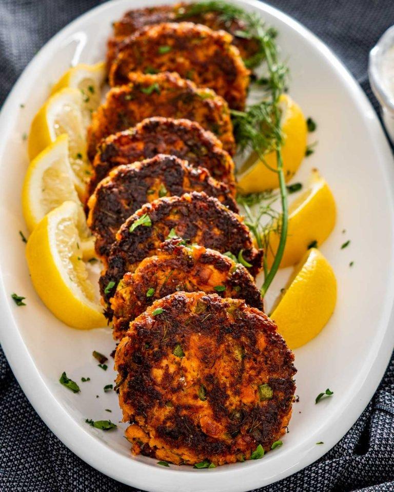 Healthy Salmon Patties Recipe
