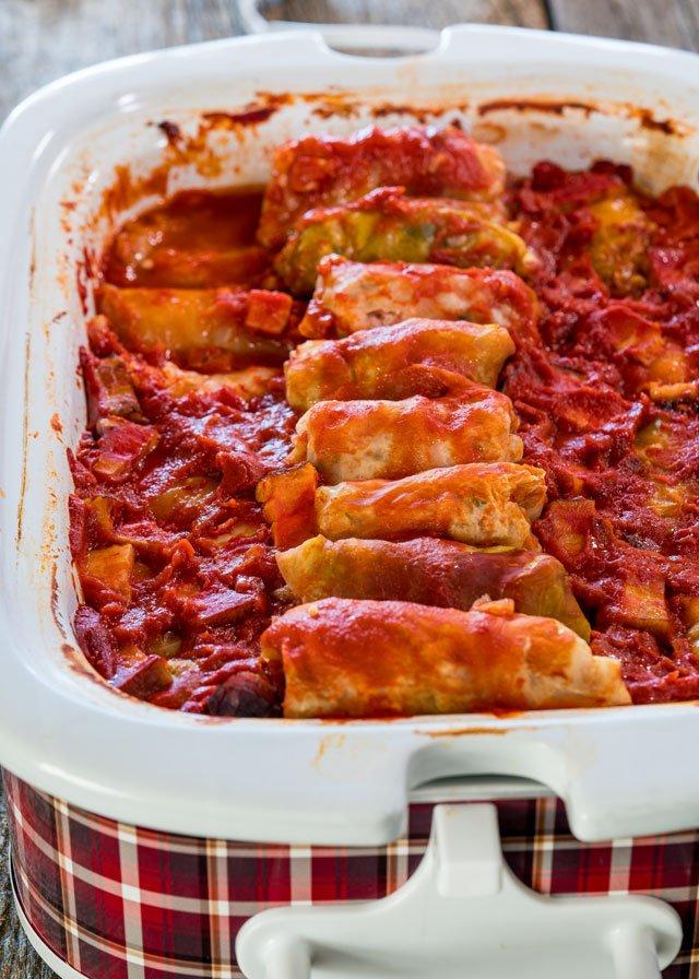 Healthy Crockpot Cabbage Rolls Recipe